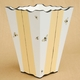 hand painted  waste basket - bee<br>no longer available