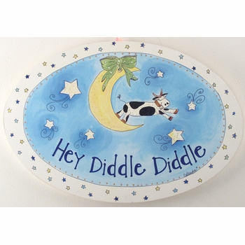 handcrafted artwork - hey diddle diddle