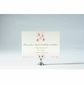 hanging ornaments invitation cards