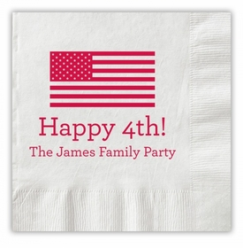 Happy Flag Napkins