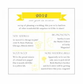 hartley & joe year in review card