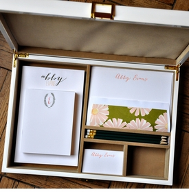 haute papier camel forest stationery wardrobe
