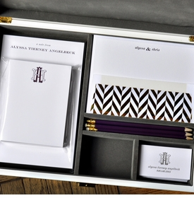 haute papier gray stationery wardrobe