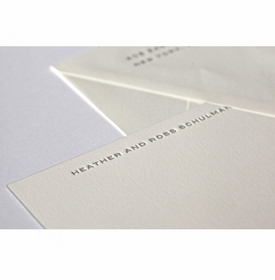 heather social stationery