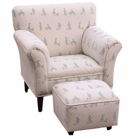 heaven sent sage quilted chair