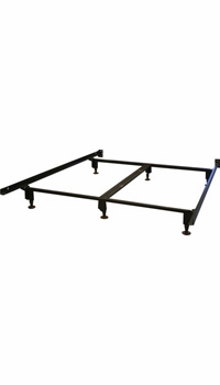 heavy duty metal bed frame queen