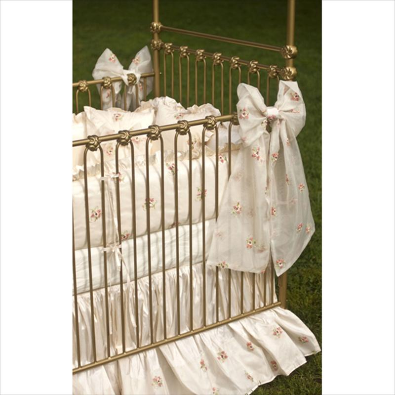 sc 1 st  BabyBox.com & heirloom iron canopy crib by corsican