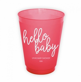 Hello Baby Cups