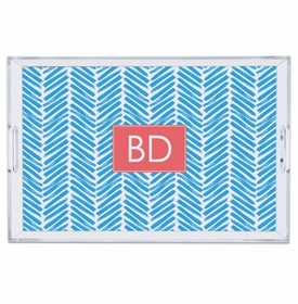 Herringbone Carolina Large Tray