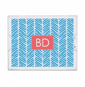 Herringbone Carolina Small Tray