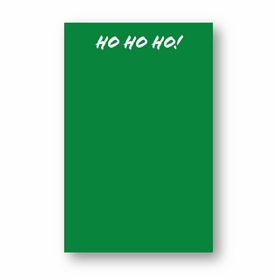 Ho Ho Ho Large Notepad