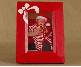 holiday bow frame