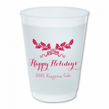 Holiday Swag Cups