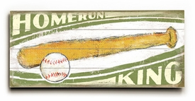home-run king 2 vintage sign