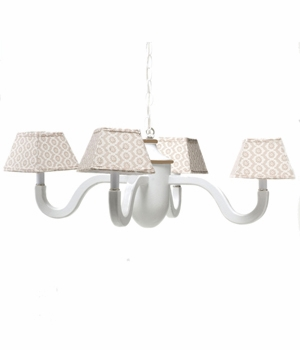 honey violene acorn chandelier
