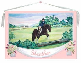 Horse Wall Hanging 40x26
