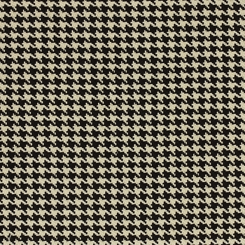 houndstooth/black and white fabric