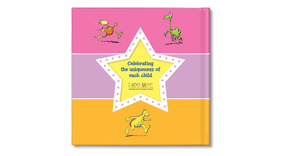 I\'m an all-star personalized book (pink) featured at babybox.com