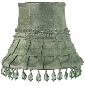 ice green skirt dangle chandelier shade