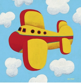 in flight wall art by max grover
