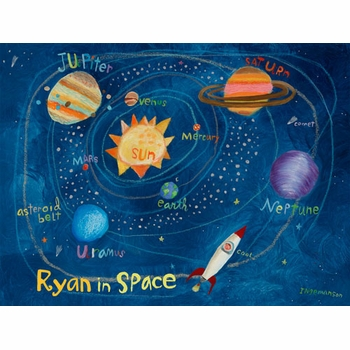 in space wall art