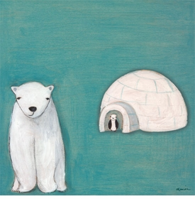 in the arctic wall art by marisa haedike