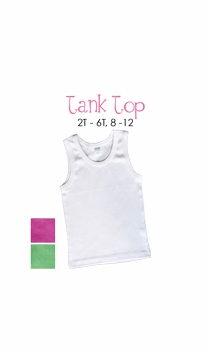 initial tank top - personalized
