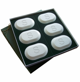 inspire personalized soaps (set of 6): single initial