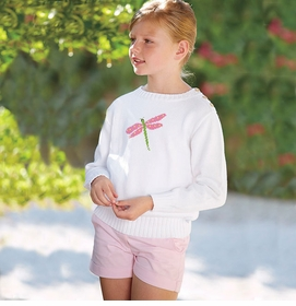 intarsia dragonfly sweater (other colors available)