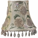 ivory beaded embroidery chandelier shade