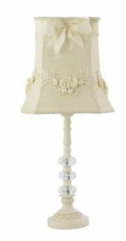 ivory floral bouquet medium shade