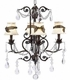 ivory solid chandelier shade
