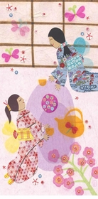 japanese tea ceremony wall art by libby ellis