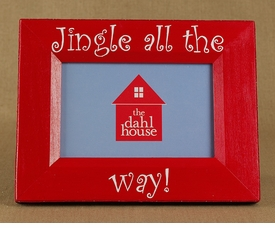 jingle bells christmas frame