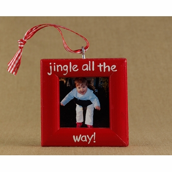 jingle bells christmas ornament