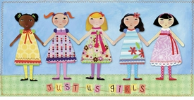 just us girls wall art by jessica flick