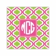 kate raspberry & lime square paper coaster<br>set of 50