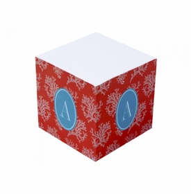 kaua'l coral sticky note cube