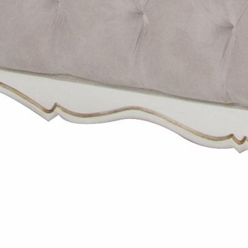 kristina  twin bed - tufted upholstered