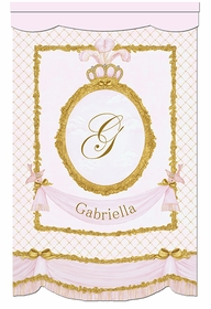 La Belle Princesse Canvas Wall Hanging in Contemporaine Blush