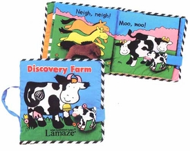 lamaze discovery farm look & play book (back ordered)