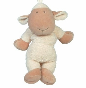 lamb musical pull toy
