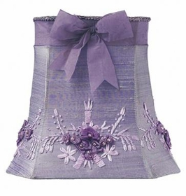 lavender floral bouquet large shade