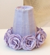 Lavender rose-shades for Chandeliers or sconces