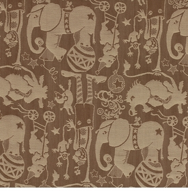 le cirque/cocoa fabric