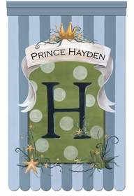 le petite prince forget me not personalized wall hanging