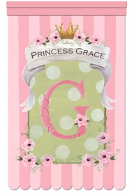 le petite princess pink bon bon personalized wall hanging
