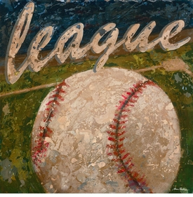 league -  baseball wall art - unavailable