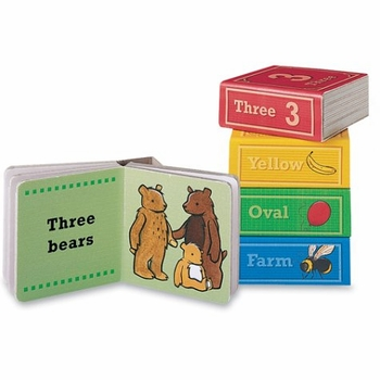 learning block books: numbers, colors, shapes, animals (back ordered)