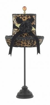 leopard hat shade
